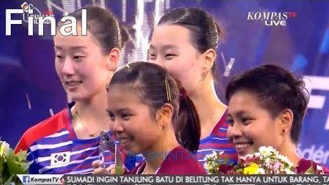 2017 French Open WD Final | Greysia Polii Apriani Rahayu vs Lee So Hee Shin Seung Chan