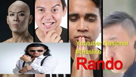 Youtuber Nasional Rame-Rame Sindir Rando, Benarkah Sindiranya Untuk Rando ?