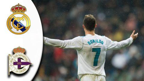 Real Madrid vs Deportivo La Coruña 7-1 -All Goals & Highlights ●21/01/2018 HD (First Half)