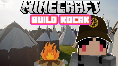 Minecraft Indonesia - Build Kocak (42) - Perkemahan!