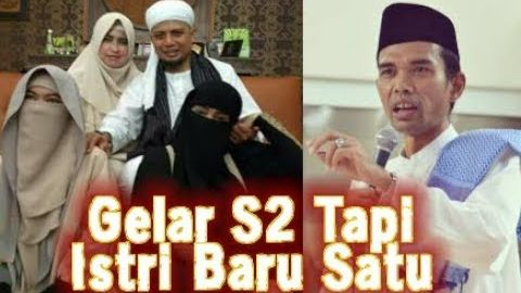 Ustad Arifin Ilham Yang Sudah Punya 3 Istri Ledek Ustadz Abdul Somad Yang S2 Tapi Istrinya Satu LUCU