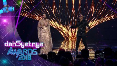 DAHSYATNYA AWARDS 2018   Via Vallen Feat Judika,  Sayang  [25 JANUARI 2018]