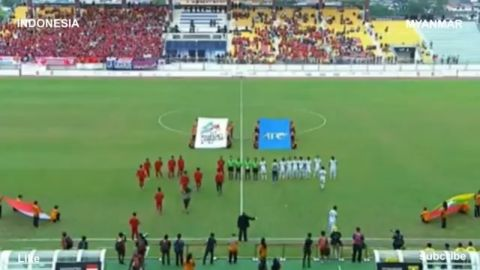 FULL HIGHLIGHT INDONESIA VS MYANMAR 3-1 SEA GAMES 2017