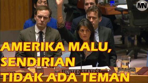 Video : Ekspresi Wajah Perwakilan AS Kebingungan, Amerika Serikat Kalah Voting DK PBB