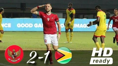 Timnas Indonesia vs Guyana 2-1 Highlight All Goals Friendly Match