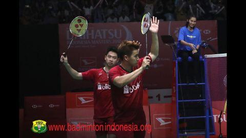 2018 Indonesian Masters MD SF   Kevin Sanjaya/Marcus F. Gideon vs Satwiksairaj R./Chirag Shetty