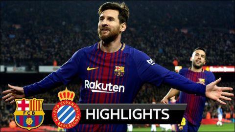 Barcelona vs Espanyol 2-0 - All Goals & Extended Highlights - La Copa 25/01/2018 HD