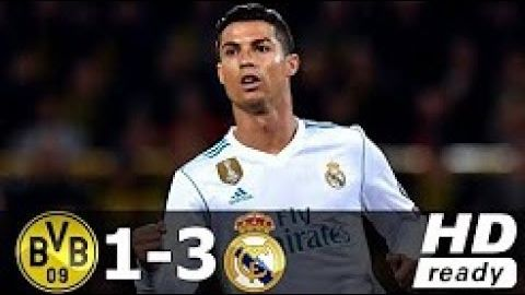 Borussia Dortmund vs Real Madrid 1-3  All Goals & Highlights 2017-18 HD