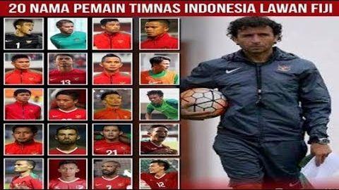 Resmi!!! PSSI Umumkan 20 Nama Pemain Timnas Senior Yang Akan Menghadapi Fiji