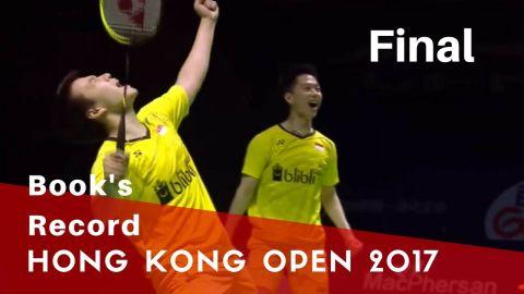 2017 Hong Kong Open MD Final Marcus F Gideon Kevin Sanjaya Sukamuljo Vs Mads Conrad Mads Pieler K