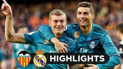 Valencia vs Real Madrid 1-4 - All Goals & Highlights - 27/1/2018 HD