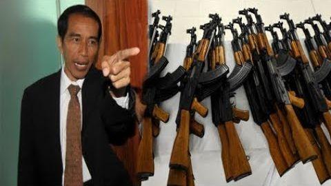 'Pak Jokowi Marah Besar' Jendral TNI Temukan 5000 S3njata Ilegal Catut Jokowi