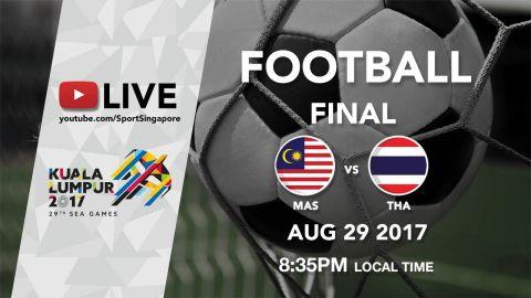 Football Final: Malaysia 🇲🇾 vs 🇹🇭Thailand | 29th SEA Games 2017