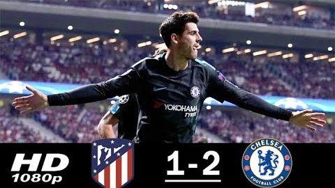 Atletico Madrid vs Chelsea 1-2 All Goals & Highlights (27/09/2017)
