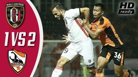 BALI UNITED vs CHIANGRAI UNITED (1-2) - Liga Champions Asia 2018 [HD]