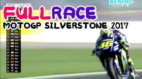 Valentino Rossi Almost No.1 FULL RACE MOTOGP Silverstone British Inggris 27 Agustus 2017