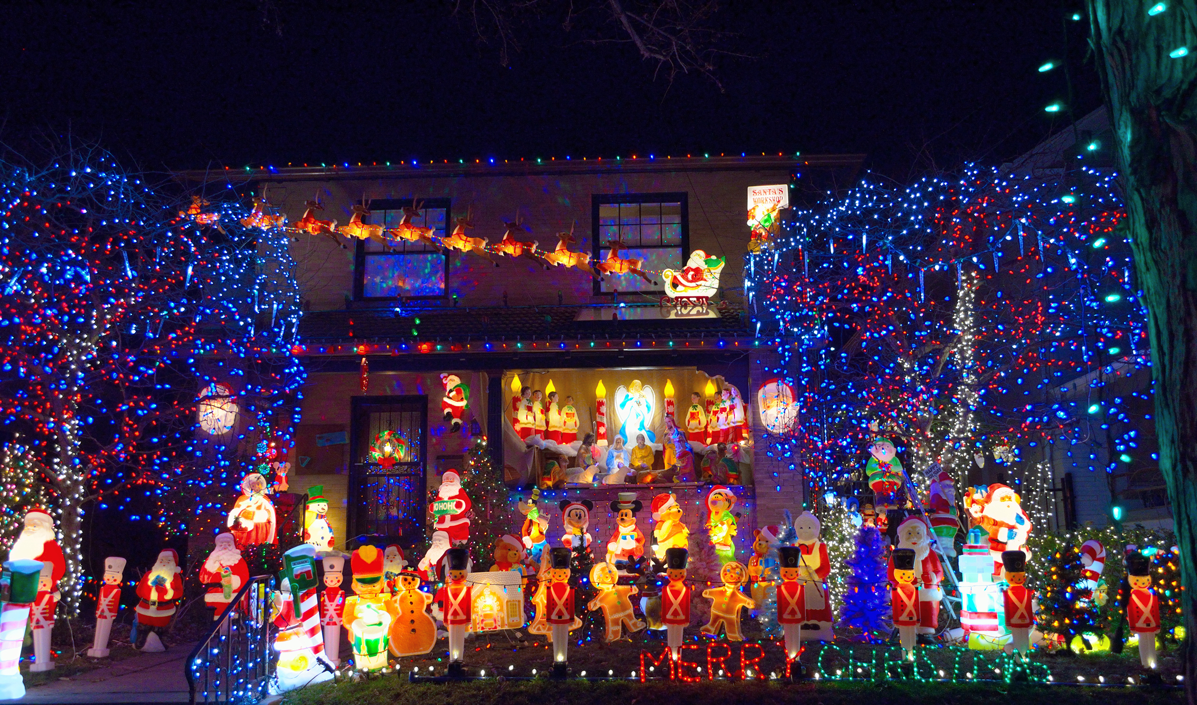 Love Bright Lights? Check Out These 10 Displays Close to Downtown ...