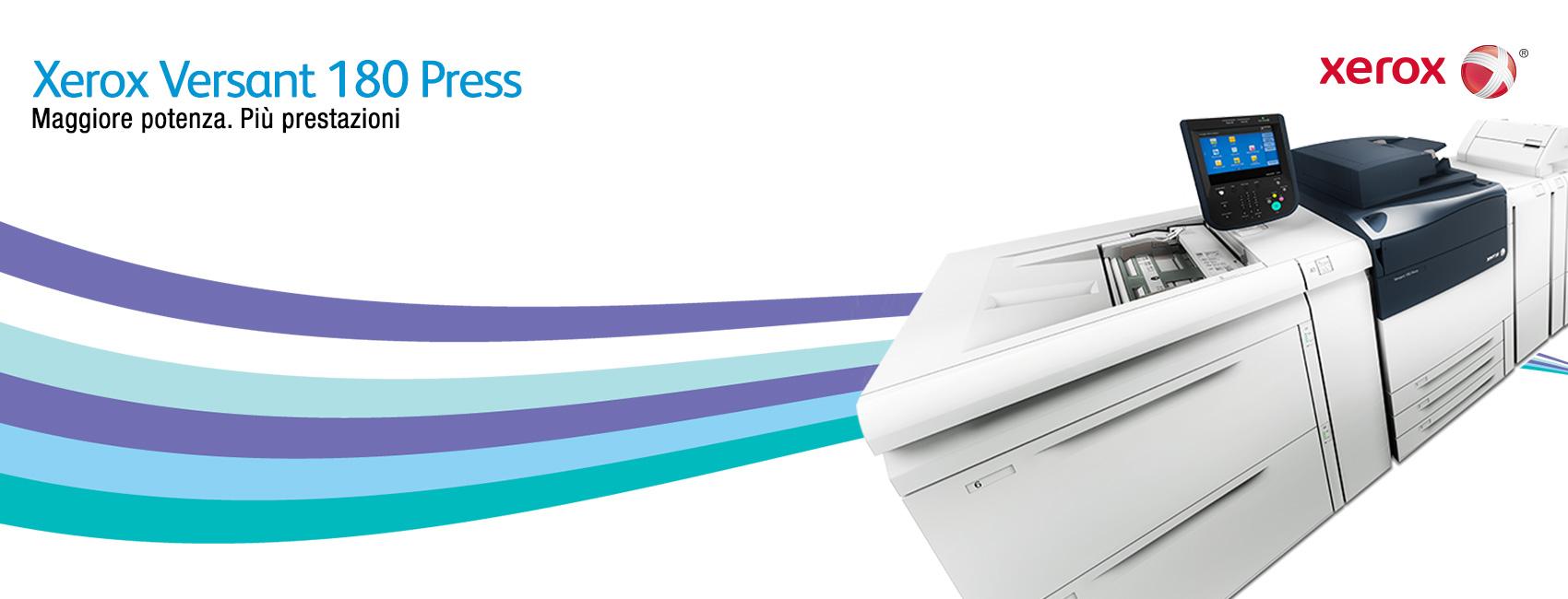 Scoprire la nuova Xerox Versant 180