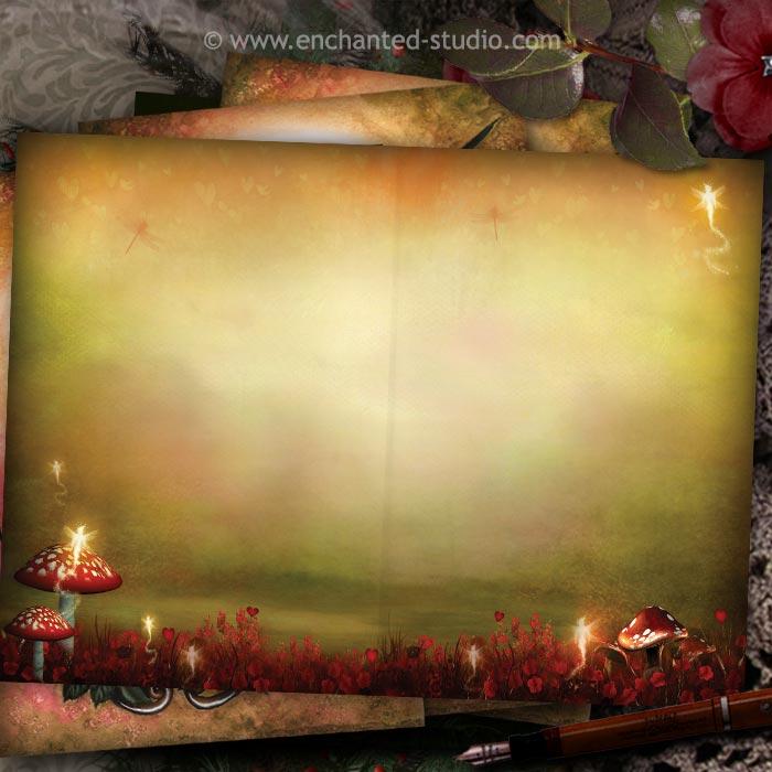 carte postale feerique saint valentine, carterie fournisseur