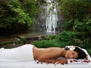 Entspannende Hydro-Massage