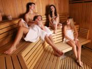 Saunalandschaft & Wellnessbereich