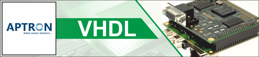 Best 6 Months Industrial Training in vhdl