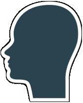 User icon female large