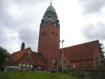 Kostel Masthugget - http://commons.wikimedia.org/wiki/File:Goteborg_masthuggskyrkan.jpg