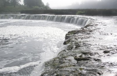 Vodopád Venta - http://www.latvia.travel/en/venta-waterfall