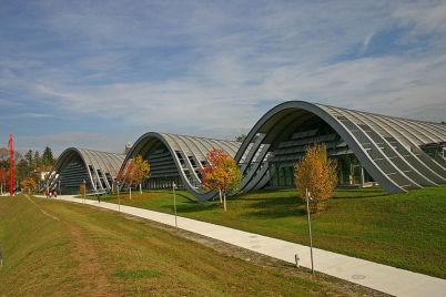 Zentrum Paul Klee - http://commons.wikimedia.org/wiki/File:Paul-klee-zentrum-ansicht-zoom.jpg