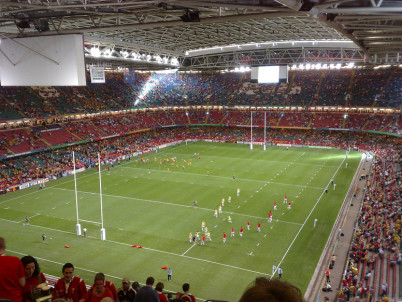 Millenium Stadium - https://www.flickr.com/photos/nedrichards/1393058215/