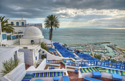 Sidi Bou Said - https://www.flickr.com/photos/usaidabbasi/8507644309