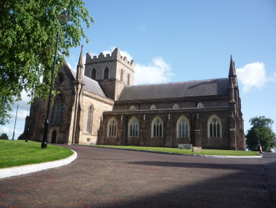 Katedrála sv. Patrika v Armagh - http://www.stpatricks-cathedral.org/visitor-guide/a-morning-on-the-hill/