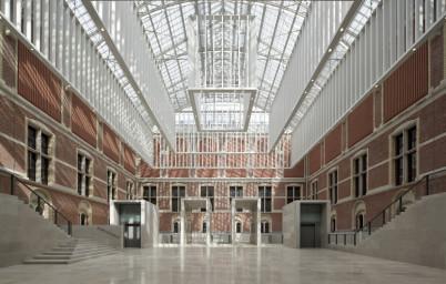 Rijksmuseum Atrium - https://www.rijksmuseum.nl/en/presskit