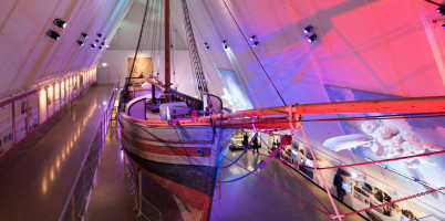 Muzeum Fram Polar Ship - https://www.flickr.com/photos/39487136@N07/20472753573/