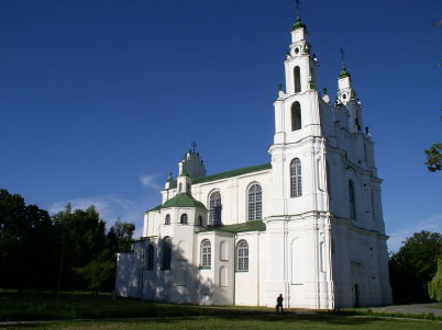 Kostel st. Sophia - https://en.wikipedia.org/wiki/List_of_World_Heritage_Sites_in_Belarus#/media/File:Belarus-Polatsk-Cathedral_of_Sophia-3.jpg