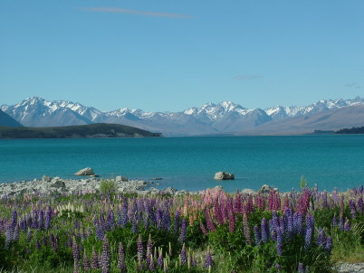 Tekapo - https://commons.wikimedia.org/wiki/File:Lake_Tekapo.JPG