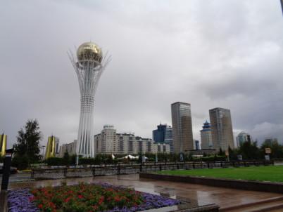 Věž Bajtěrek, Astana -