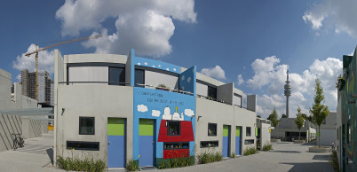 Olympiadorf München - Studentendorf - https://www.flickr.com/photos/14646075@N03/7846721012