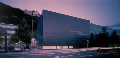 Kunstmuseum - https://en.wikipedia.org/wiki/Kunstmuseum_Liechtenstein#/media/File:Kunstmuseum_Liechtenstein,_Vaduz.jpg