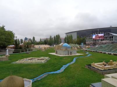 Atameken - mapa Kazachstánu -