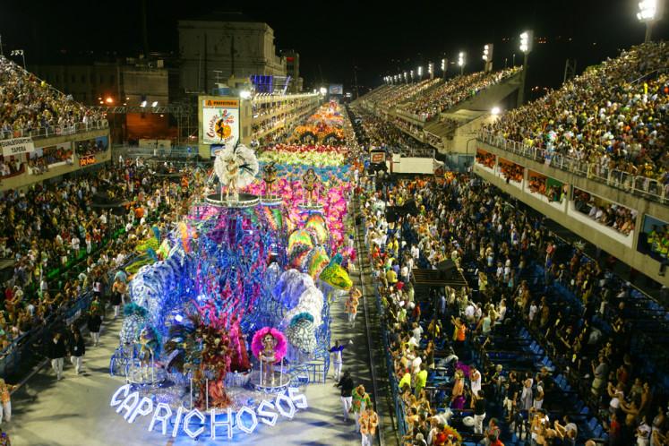 Sambodrome - Rio Carnival 2006