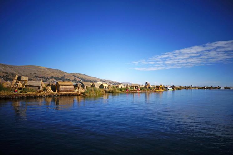 Plovoucí ostrovy kmene Uros, Titicaca