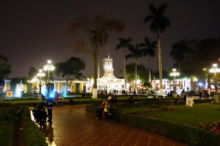 Barranco v nočních hodinách