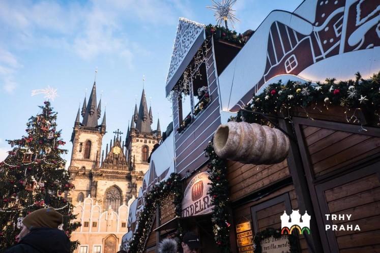 Vánoční trhy na Staroměstském náměstí v Praze