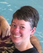daubel in pool