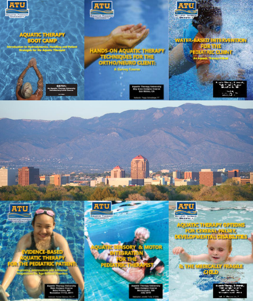 2-week aquatic therapy intensive conference