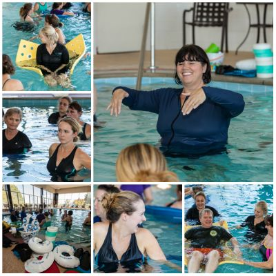 aquatic therapy continuing education class