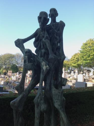 Holocaust Memorial Pere Lachaise
