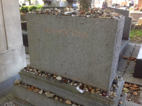 Headstone of Gertrude Stein